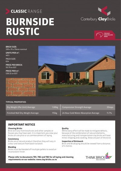 BURNSIDE RUSTIC