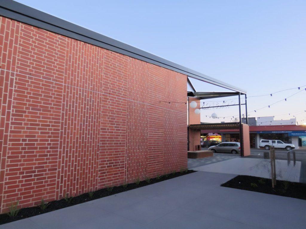 Woolston Community Hub Rear View